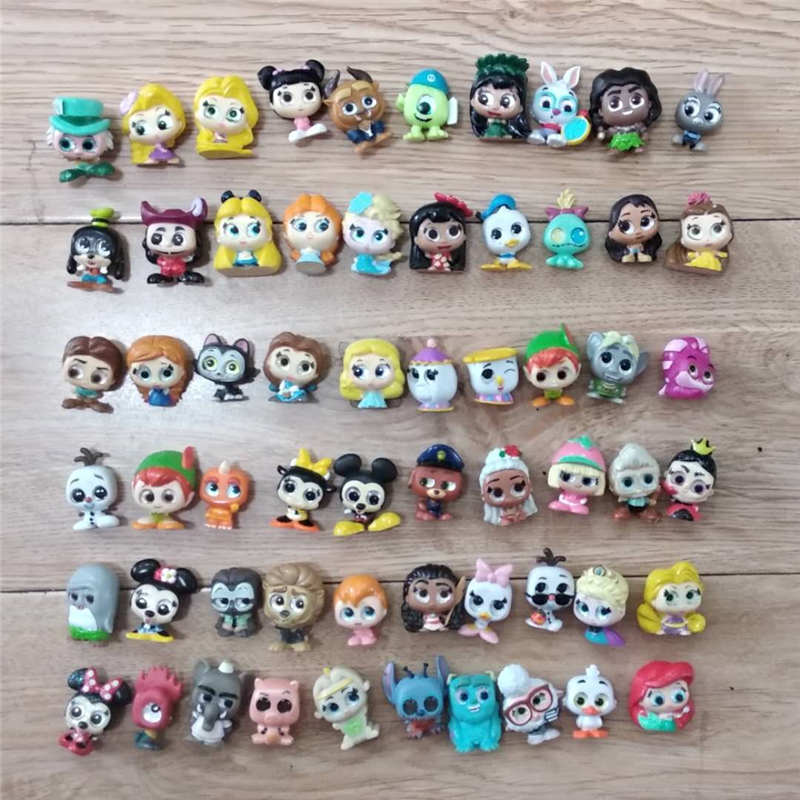 Original Mickey Doll Doorables Series 1 & Series 2 Princess Doll Stitch Zootopias Kid Toy MINI SIZE Rare Collection