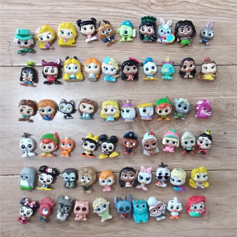 Original Mickey Doll Doorables Series 1 & Series 2 Princess Doll Stitch Zootopias Kid Toy MINI SIZE Rare Collection