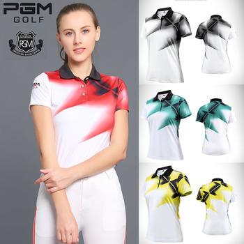 Damskie stylowe topy odzież damska koszulka PoLo odzież sportowa Golf tenis Run Dry Fit oddychające koszule z krótkim rękawem odzież golfowa tanie i dobre opinie WOMEN COTTON spandex Anty-pilling Szybkie suche CC0112 Pasuje prawda na wymiar weź swój normalny rozmiar Suknem