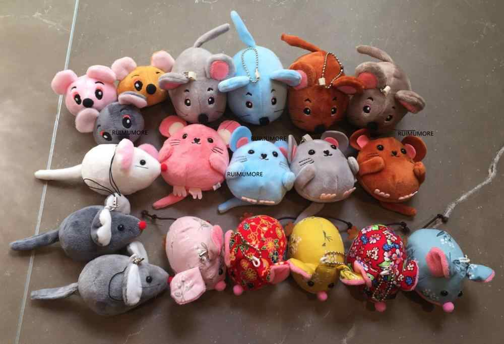 multi colors, size 5-15CM Approx, litle Cute Mini Mouse Plush Toy , kid's Animal Plush toy doll