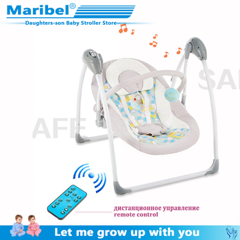 2020 safety baby rocking chair 0-3 baby Electric cradle rocking chair soothing the baby's artifact sleeps newborn sleeping baby rocking chair to sleep baby electric rocking chair cradle chair small rocking bed rocking chair soothing chair coax baby ar