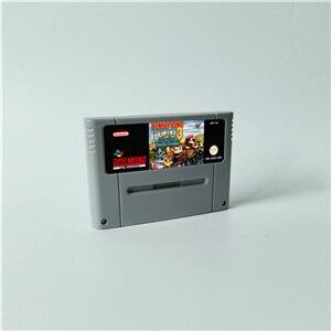 Image 1 - Donkeyประเทศ 1 2 DiddyของKong Quest 3 Dixie Kongคู่ปัญหา! การแข่งขัน เกมRPGการ์ดEURรุ่นประหยัดแบตเตอรี่