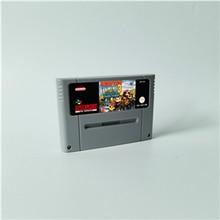 Donkey Country 1 2 Diddys Kong Quest 3 Двойная проблема Дикси Конга! Конкурс карта для игры ролевая версия для Европы экономия батареи