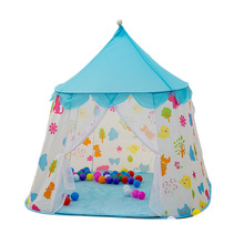 Boys Girls Toy Tent Teepee Castle Large Playhouse Kids Dream Indoor Outdoor Games Play Tents For Children Gift цена и фото