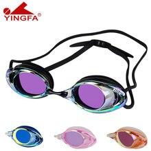 Очки для плавания yingfa очки серфинга дайвинга оптические гальванические