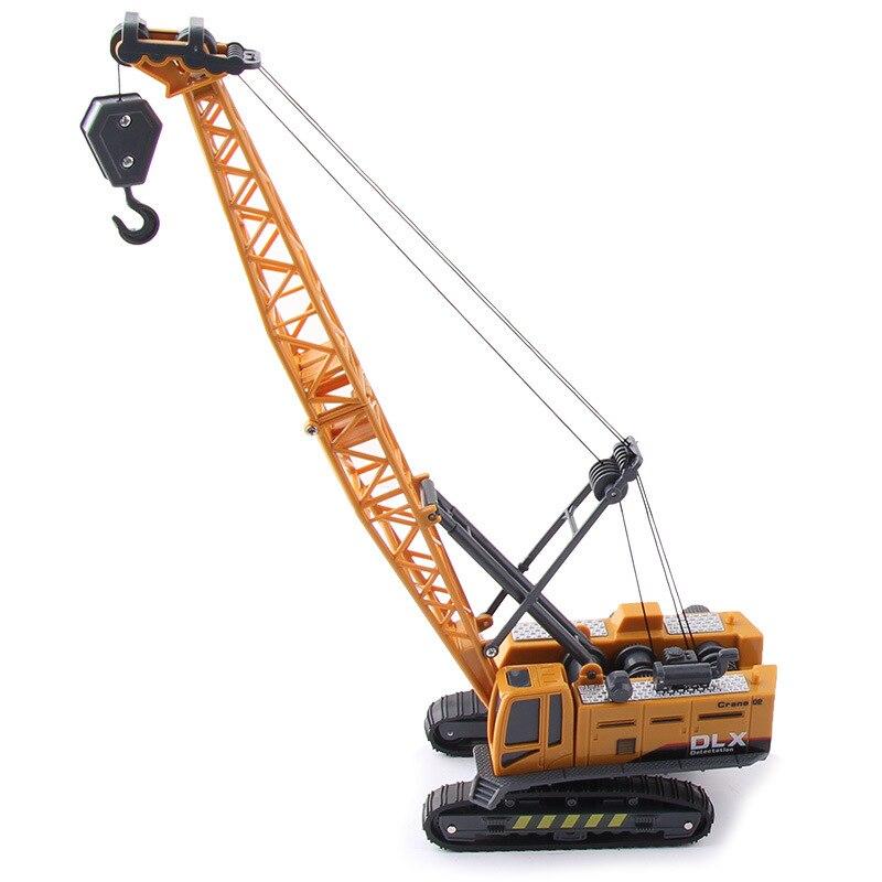 Simulated Forklift Truck Model For Construction Truck Set Of Excavator Of Children's Toy Truck Children's Gift Toys