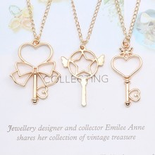 Anime Cardcaptor Sakura Sailor Moon Necklace For Women Girls Heart Star Bowknot Pendant Necklaces Children Cute Jewelry Gifts kyszdl wholesale 2 pcs high quality sailor moon power necklace magic pentacle necklace sailor moon jewelry cute for baby girls