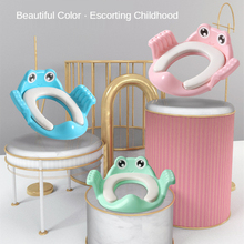 Safety Baby Toilet Seat with Armrests Toilet Trainers Comfortable Children Potty Seat Cartoon Infant Potties Training Girls Boys