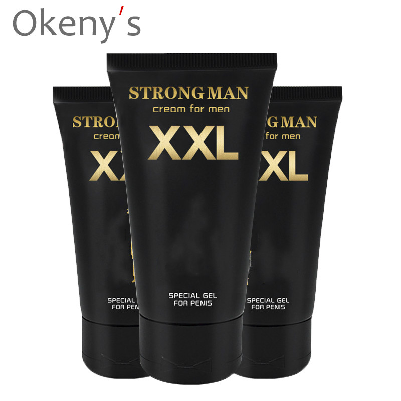 New Strong Man Russia Gel Xxl Cream Penis Enlargement Cream Increase Growth Dick Size Extender Sexual Products Sex Massage Oil
