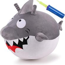 Jumping-Ball Animal-Toys Ride On Plush-Bouncy Kids for 18-Months 2-3-4-Year/olds Iplay