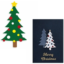 Gimmer Tiny Tree Metal Cutting Dies Shining Christmas Die Cuts For Card Making DIY Scrapbook New 2019 Embossed Crafts Cards