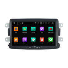 "Klyde 8 ""px6 android 9.0 áudio do carro para renault duster 2014-2016 deckless multimídia player 6 núcleo estéreo 1 din rádio do carro(China)"
