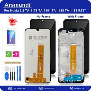 """Image 1 - Dla Nokia 2.2 N2.2 5.71 """"wyświetlacz LCD ekran dotykowy wymiana Digitizer zgromadzenia LCD + prezent"""
