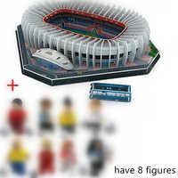 Nouveau Puzzle 3D Architecture Stadio France Parc des Princes stades de Football jouets modèles de papier de construction