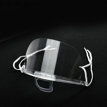 500pcs/ package mask protection transparent catering chef mask dust proof mask mask kitchenware