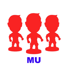 Football Soccer Utd Star 2.5 Resin Dolls Player figurine Action toys