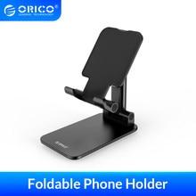 ORICO-Soporte de escritorio plegable para teléfono móvil, para iPhone, iPad, Xiaomi, huawei, tableta de escritorio