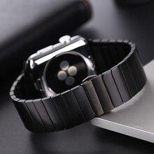 Cinturino in Acciaio Inox Per Apple watch 5 4 band 44 millimetri 40 millimetri iwatch fascia 42 millimetri correa 38 millimetri pulseira apple watch 3 del braccialetto cinturino