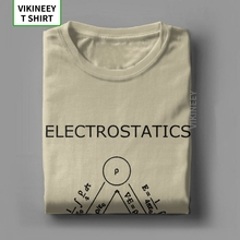 Electrostatics Thats Pretty Much It T Shirt Men 100% Cotton T-Shirt Science Physics Geek Nerd Tee Shirt Short Sleeve 3XL