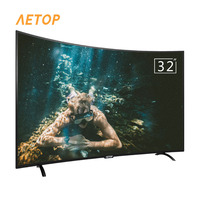 Free shipping matrix tv 32 inch tv smart television led curved screen tv android with DVB T2 S2