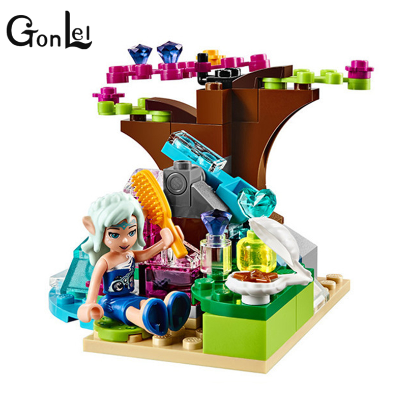 Image 2 - 214pcs/set The Water Dragon Adventure Building Bricks Blocks DIY Educational toys Compatible with Legoinglys Elves-in Blocks from Toys & Hobbies