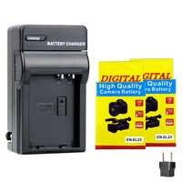 2000mAh EN-EL23 de batería de la cámara es EL23 + cargador para Nikon Coolpix P900 P600 PM159 P610S S810c P900S