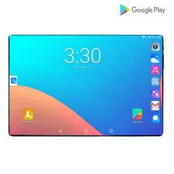 2019 новый дизайн 10,1 дюймов android 9,0 планшетный ПК 6 ГБ и 64 Гб Две sim-карты 1280*800 HD большой экран Двойная камера 8 ядер планшеты