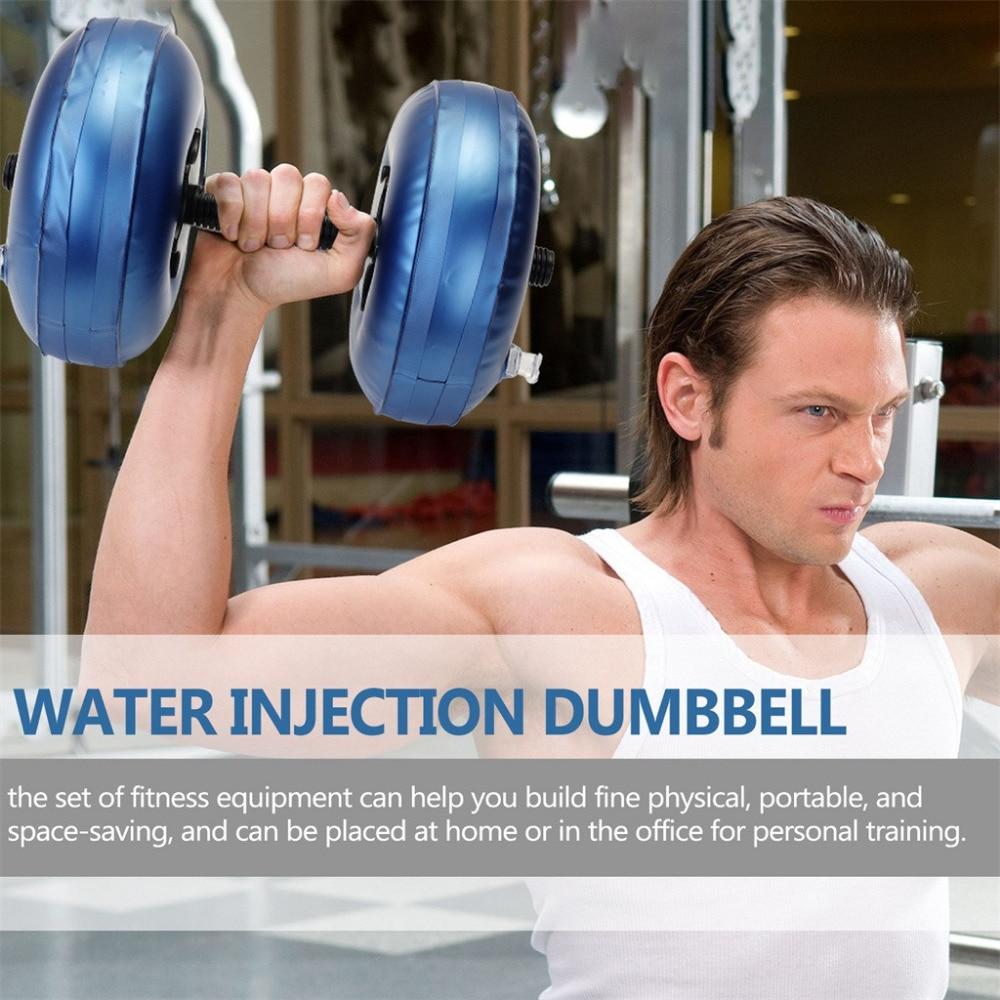 Dumbbell cheio de água 15-20 kg indoor