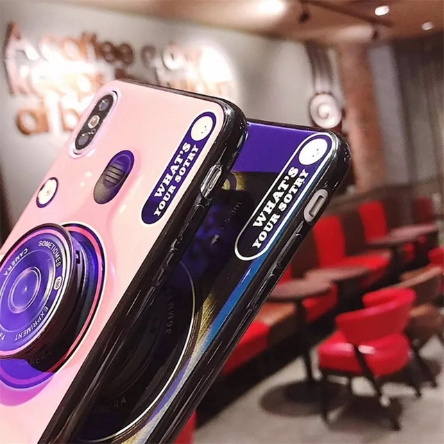 3D Camera Case For Samsung Galaxy Phone Models 8