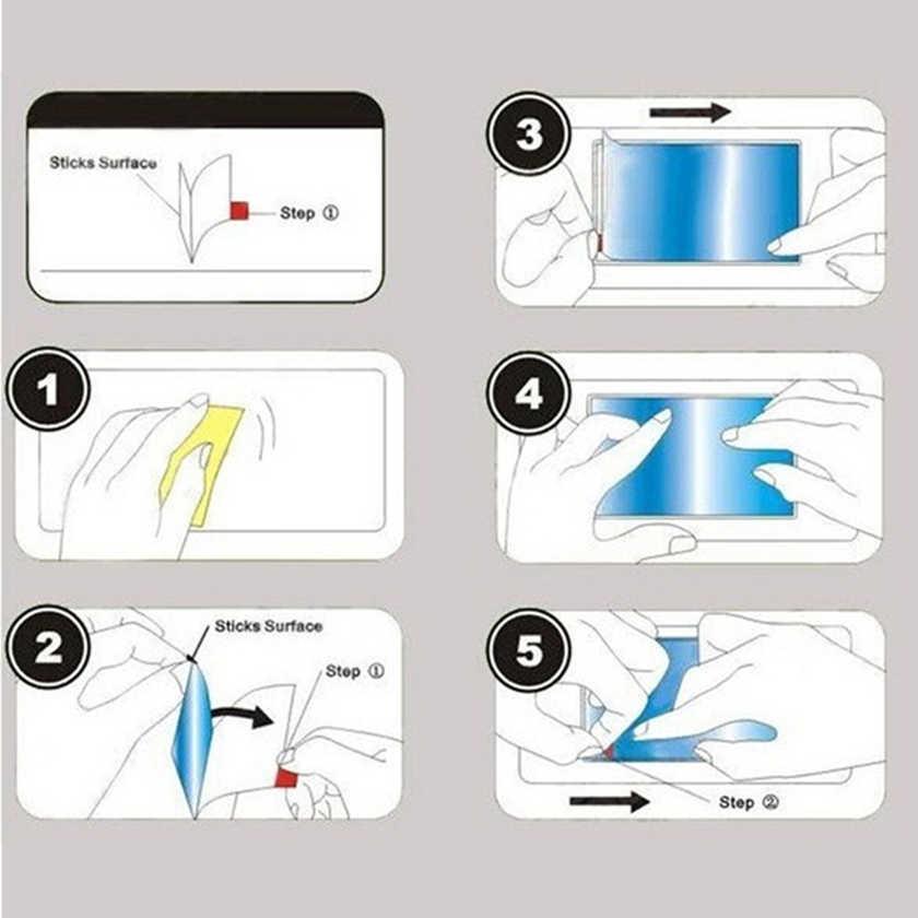 5 sztuk błyszczący przezroczysty ochraniacz ekranu ochronna folia dla Mei zu m6 uwaga m6s m5 uwaga m5s m5c m3s m3 uwaga E3 8 9
