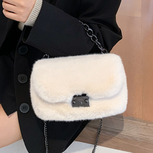 Handbags Chain Messenger-Bag Crossbody-Bags Female Winter Casual Women's Cute Veryme