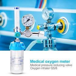 Miernik nadmiarowy ciśnienia inhalator odporny na wstrząsy tlenowy miernik acetylenu zawór gazowy korpus Regulator ze stopu cynku przyrządy medyczne