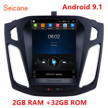 Seicane 2GB RAM 32GB ROM 자동차 gps 멀티미디어 비디오 라디오 플레이어 포드 포커스 2012 2013 2015 지원 WIFI OBD2 Rearview 카메라