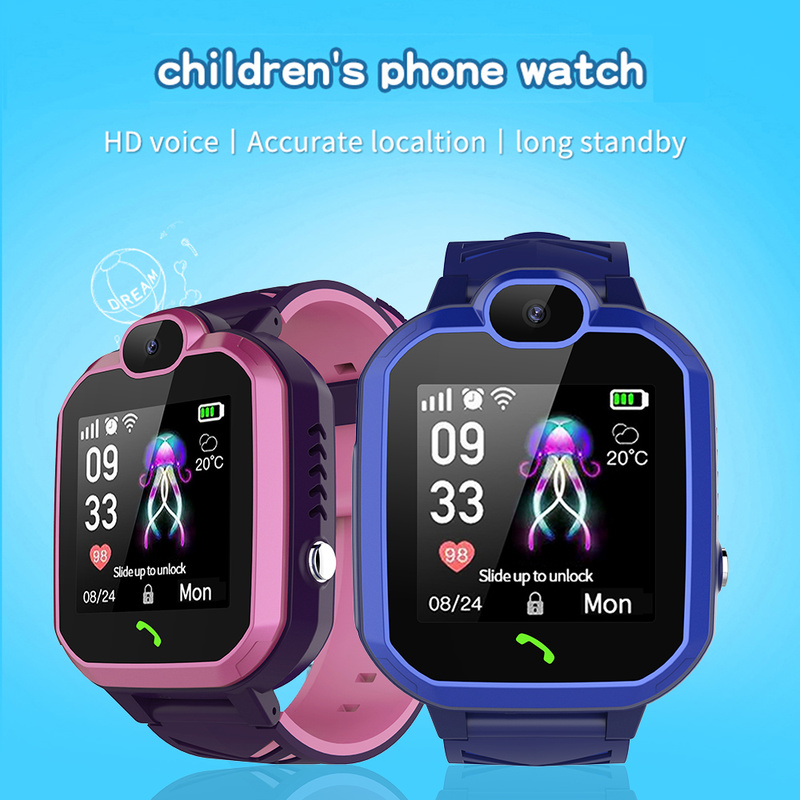 <font><b>R7</b></font> LBS Child <font><b>Smart</b></font> <font><b>Watch</b></font> Phone Position Children <font><b>Watch</b></font> 1.4inch Color Touch Screen SOS <font><b>Smart</b></font> Baby <font><b>Watch</b></font> Tracker Anti-lost Monitor image