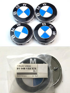 Bonnet-Hood Emblem Badge Trunk Logo 74mm Front White 82mm E39 E46 78mm 51148132375 Blue