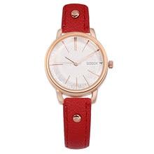 цена Gogoey Watch Fashion Casual Watches Women Ladies Watches Leather Quartz Watch Bayan Kol Saati horloges vrouwen dames horloge в интернет-магазинах