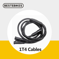 Bafang BBS01B BBS02B 1T4 principais cabos