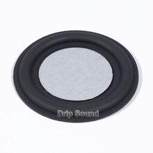 Placa de vibração de borracha do woofer do baixo auxiliar do radiador passivo do orador de 78mm que vibra o diafragma