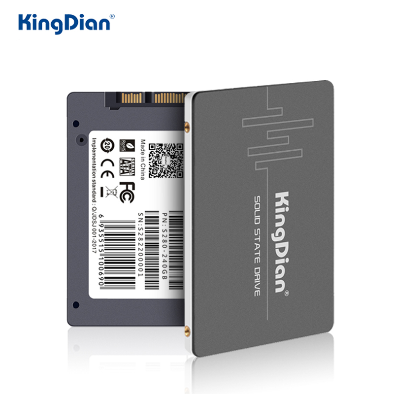 Kingdian Disk Hard-Drive 512GB 240GB Internal S280 Solid-State 256GB HD Sata 2.5 1tb