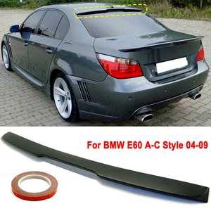 Задний спойлер на крышу автомобиля праймер готовые задние окна крыла Спойлер козырек подходит для BMW E60 2004-2010 A-C стиль