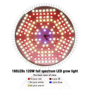 Image 2 - LVJING LED Grow light 100W 120W Full Spectrum Fitolamp Hydroponics Phyto Lamp For Indoor Vegs Flower Seedlings Plants Lighting