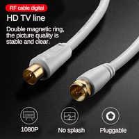 1/1. 8/3/5m HD TV Linie Video Kabel für High-definition Fernsehen HD Hohe Qualität Antenne TV/M-TV/STB Digital TV Linie