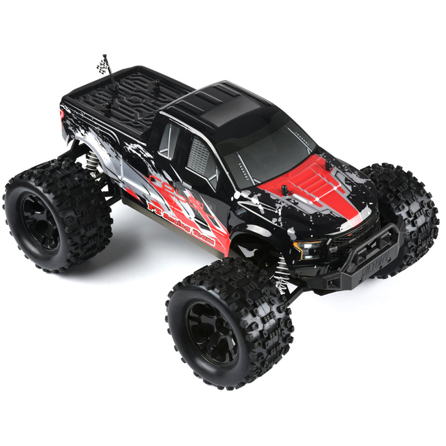 FS Racing 1:10 Bigfoot Car 4WD High Speed Brushless Remote Control Car with Body ESC Motor 2.4G Remote Control - RTR Version 6
