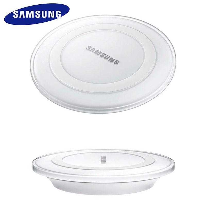 Оригинальное Беспроводное зарядное устройство Samsung адаптер qi зарядная площадка для Galaxy S7 S6 EDGE S8 S9 S10 Plus Note 4 5 для Iphone 8 X XS XR mi 9-1