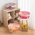Instant Cup Noodles Dog CAT Pets Sleeping Comfort Cat Soft Bed Kennel House Portable Indoor Ramen Winter Warm Kitten Puppy Nest