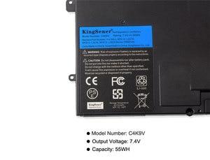 Image 5 - 7,4 V 55WH Kingsener C4K9V Laptop Batterie für DELL XPS 13 9333 L322X 13 L321X L221x 9Q33 3H76R Y9N00 0Y9N00 489XN PKH18 0PKH18