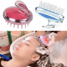 Silicone Head Body To Wash Clean Care Hair Root Itching Scalp Massage Comb Shower Brush Bath Spa Slimming Anti-Dandruff Shampoo head massage hair brush cute magical rabbit scalp massager electric shampoo comb vibration stress relief bath hair wash care