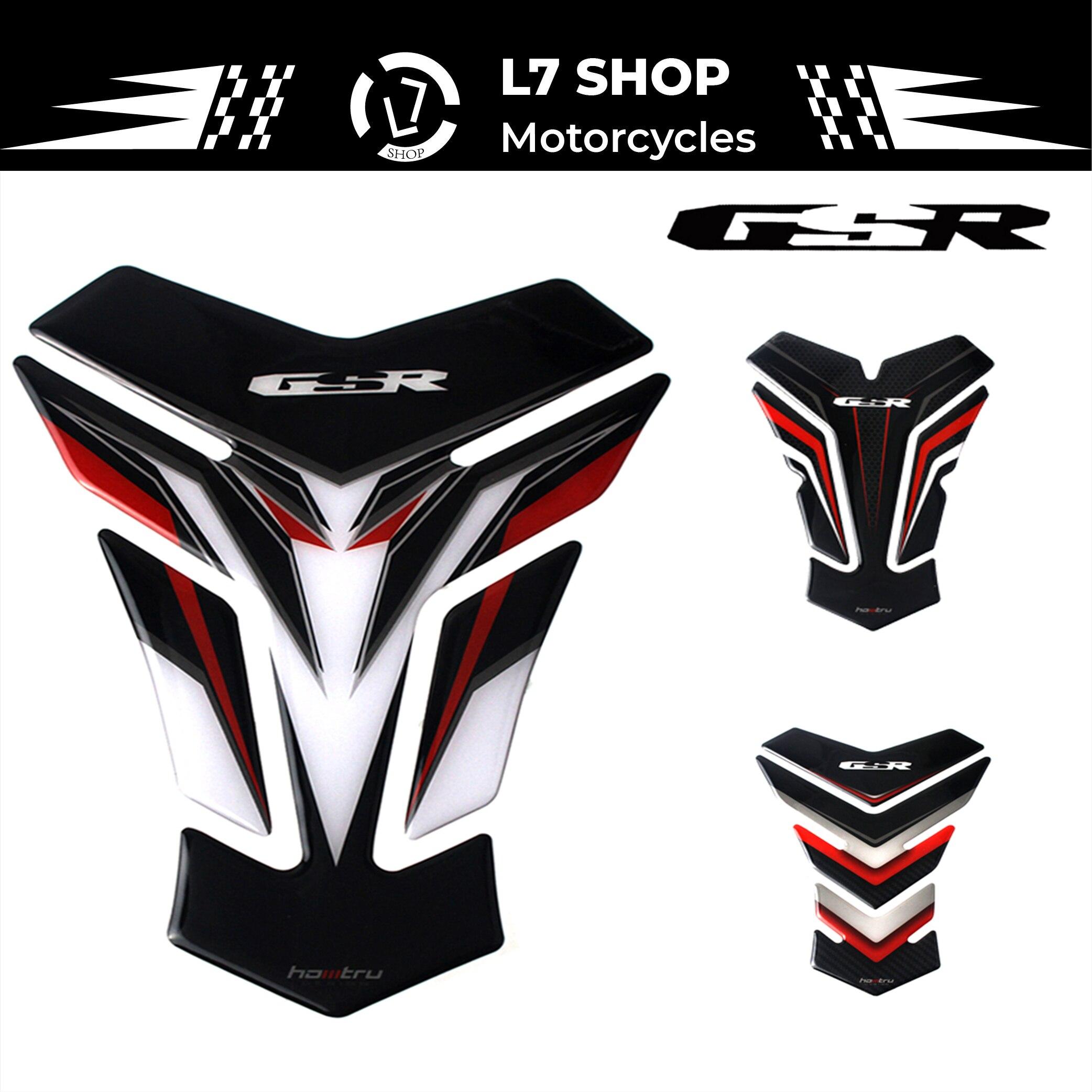 3D защитная накладка на бак мотоцикла Стикеры для Suzuki GSR GSR250 GSR400 GSR600 GSR750