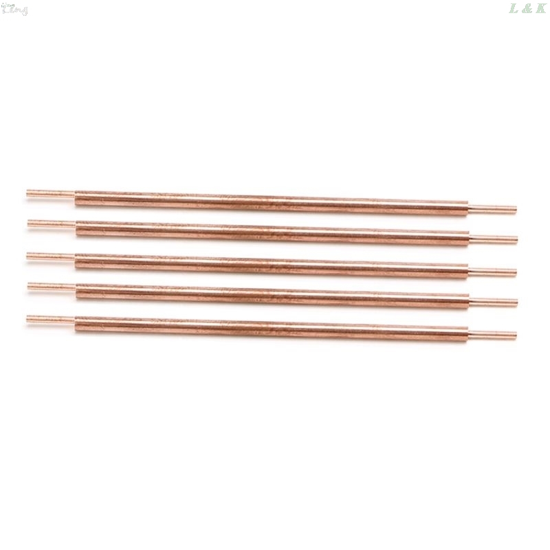 5pcs 3x100 Welder Spot Welding Pin Welding Accessories Alumina Copper Welding Feet