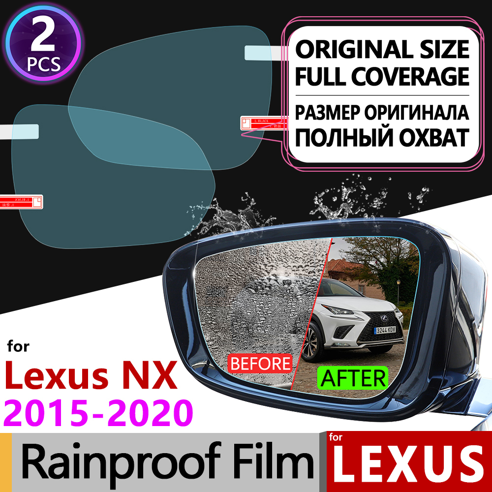 for <font><b>Lexus</b></font> NX NX200t NX300h <font><b>NX200</b></font> NX300 200t 300h 200 300 Full Cover Anti Fog Film Rearview Mirror Rainproof Films Accessories image